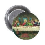 Vintage Religion, Last Supper with Jesus Christ 6 Cm Round Badge