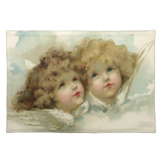 Vintage Religion, Victorian Angels in the Clouds Placemat