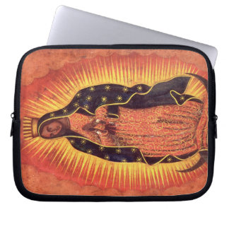 Vintage Religion, Virgin Mary, Lady of Guadalupe Laptop Sleeve