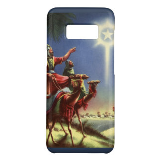 Vintage Religion, Wise Men with Star of Bethlehem Case-Mate Samsung Galaxy S8 Case