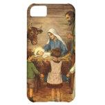 Vintage Religious Christmas, Nativity, Baby Jesus iPhone 5C Cover