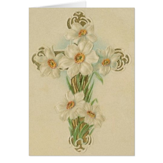 Vintage Religious Easter Note Card