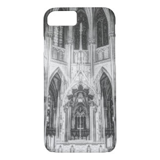 Vintage religious Gothic catholic church cathedral iPhone 8/7 Case