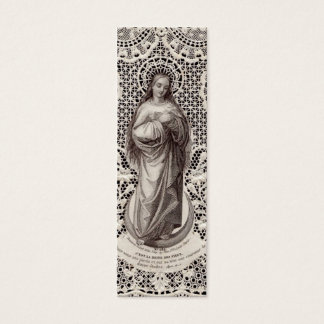 Vintage Religious Image for Microscope Slide Art Mini Business Card
