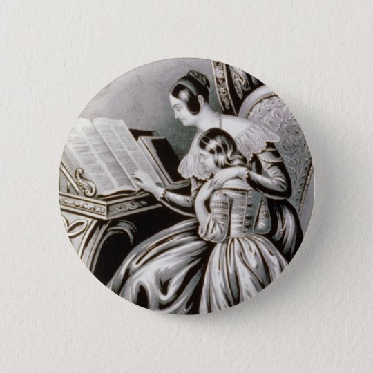 Vintage Remember Thy Creator Illustration 1846 6 Cm Round Badge
