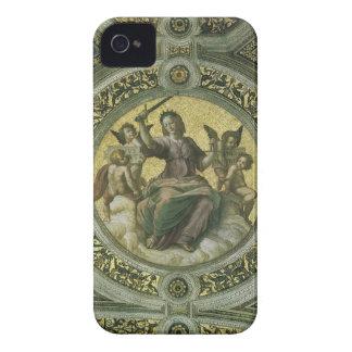 Vintage Renaissance Art, Justice by Raphael iPhone 4 Case-Mate Cases