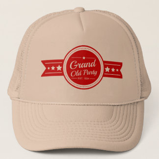 """Vintage Republican """"Grand Old Party"""" Hat"""