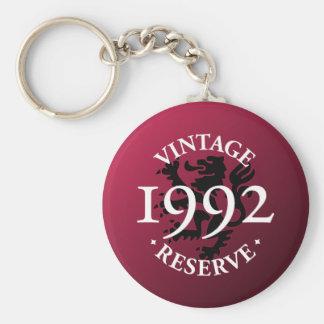 Vintage Reserve 1992 Keychain