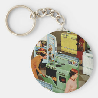 Vintage Retail Business, Appliance Showroom Store Key Chains