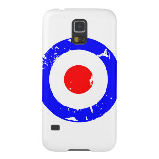 Vintage Retro Aged Mod Target Case For Galaxy S5