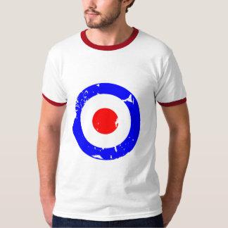 Vintage Retro Aged Mod Target Shirts