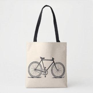 Vintage/Retro Bike Tote Bag