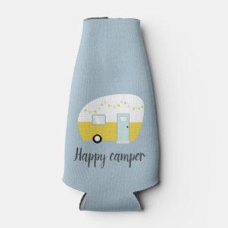 Vintage Retro Camper Beer Drink Bottle Cooler