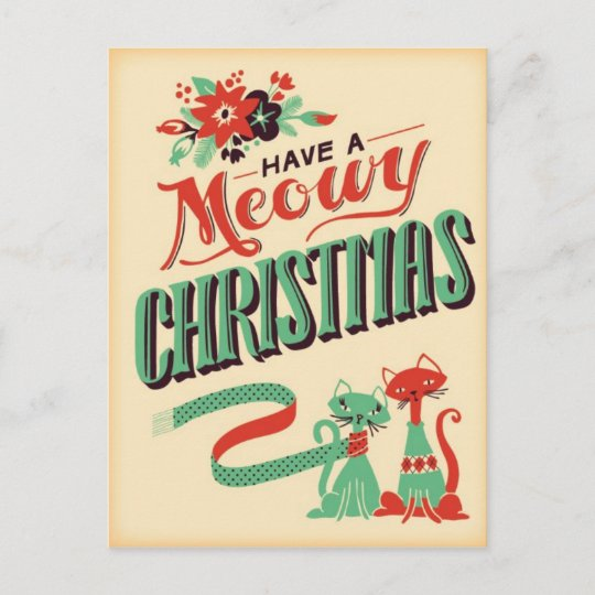 Christmas Postcards.Vintage Retro Christmas Postcard
