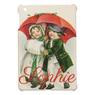 Vintage/Retro Christmas Scene Personnalised iPad Mini Covers