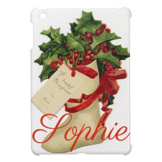 Vintage/Retro Christmas Stocking Personnalised Case For The iPad Mini