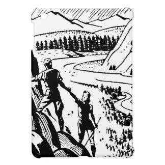 Vintage/Retro Climbers Graphic iPad Mini Covers
