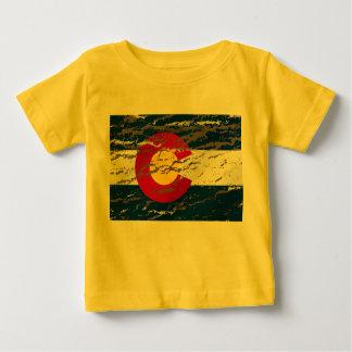 Vintage Retro Colorado State flag Baby T-Shirt