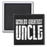 Vintage Retro Cool Uncles : World's Greatest Uncle