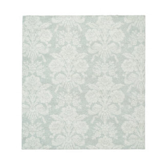 Vintage retro damask patterns notepad