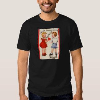 "Vintage Retro ""Dictator"" Valentine Card T Shirt"