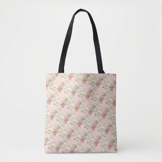 Vintage/Retro Easter Lamb Tote Bag