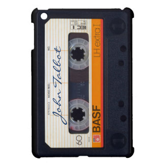 Vintage Retro Fashioned 80s Mixtape Audio Cassette Cover For The iPad Mini