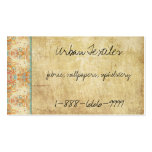 Vintage Retro Flowers Double-Sided Standard Business Cards (Pack Of 100)