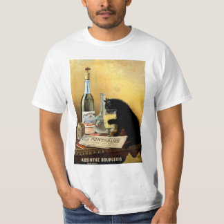 "Vintage Retro French Poster ""Absinthe Bourgeois"" T-Shirt"