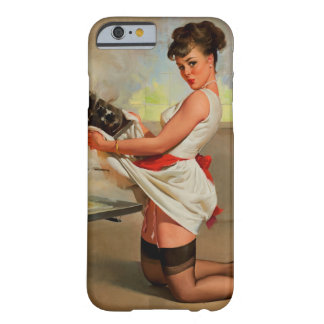Vintage Retro Gil Elvgren Baker Pin Up Girl Barely There iPhone 6 Case