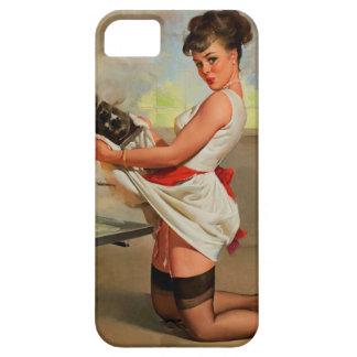 Vintage Retro Gil Elvgren Baker Pin Up Girl iPhone 5 Cases