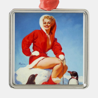 Pin Up Girl Christmas Tree Decorations & Ornaments | Zazzle.co.uk