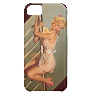 Vintage Retro Gil Elvgren Classic Pin Up Girl Cover For iPhone 5C