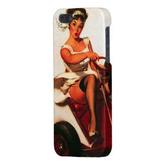Vintage Retro Gil Elvgren Go Kart Pin Up Girl iPhone 5 Case
