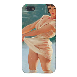 Vintage Retro Gil Elvgren Pin Up Girl Covers For iPhone 5