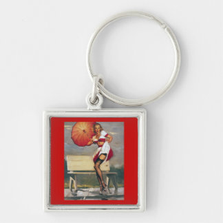 Vintage Retro Gil Elvgren Pin Up Girl Key Chains