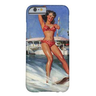 Vintage Retro Gil Elvgren Water Ski pinup girl iPhone 6 Case