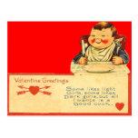 Vintage Retro Good Cook Valentine Card Post Cards