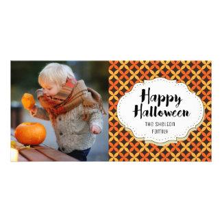 Vintage Retro Happy Halloween Picture Photo Card