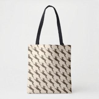 Vintage/Retro Hares Tote Bag