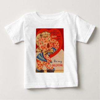 Vintage Retro Heart Rash Valentine Card Shirt