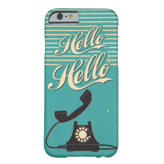 Vintage Retro Hello iPhone 6 case