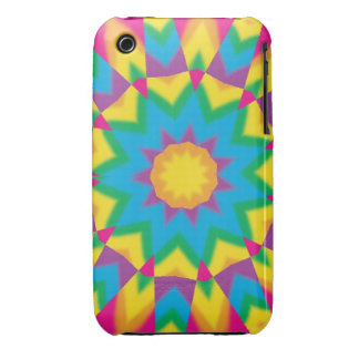 Vintage Retro Hippie Pop Art Gifts and Cases Case-Mate iPhone 3 Case