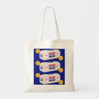 Vintage Retro Kitsch 40s Wards Tip Top Bread Tote Bag
