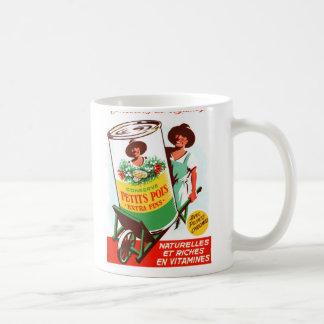 Vintage Retro Kitsch 50s German Giant Vegetables Classic White Coffee Mug
