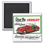 Vintage Retro Kitsch Car Auto Crosley Hotshot Magnet