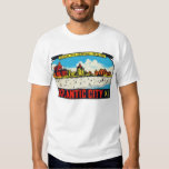 Vintage Retro Kitsch Decal Atlantic City, NJ Shirts