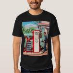 Vintage Retro Kitsch Gasoline Station Filler Up Tees