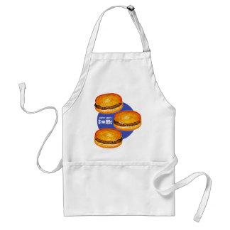 Vintage Retro Kitsch Hamburgers Happy Jack s 99¢ Aprons