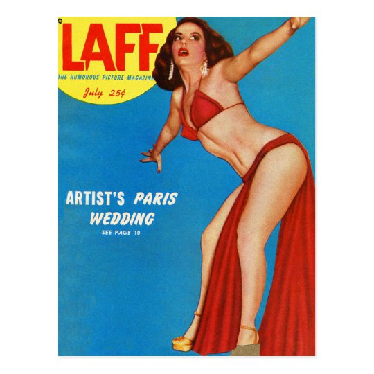 Vintage Retro Kitsch Mens Man Magazine Pin Up